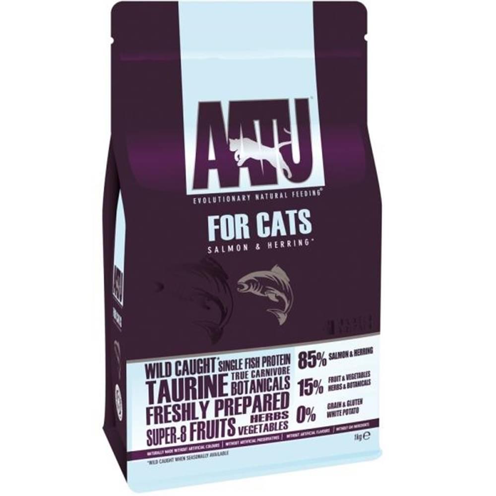 (bez zařazení) Aatu cat 85/15 SALMON & HERRING - 1kg