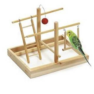 Hračka vták Ihrisko 28x23x23cm drevo KAR 1ks