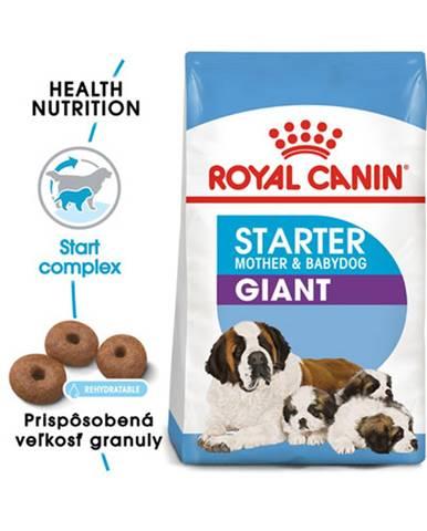 ROYAL CANIN Giant Starter Mother&Babydog 2 x 15 kg granule pre brezivé alebo dojčiace suky a šteňatá obrích plemien