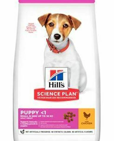 Hill's Can.Dry SP Puppy  Small&Mini Chicken 6kg