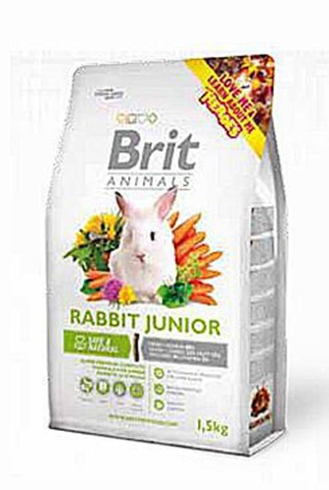 Brit Brit Animals Rabbit Junior Complete 1,5kg