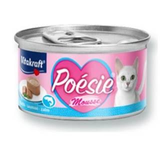 Vitakraft Cat Poésie konz. paté paštika losos 85g