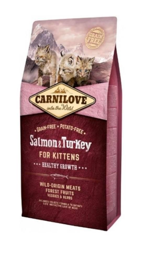 Carnilove Carnilove Cat Salmon & Turkey for Kittens HG 6kg