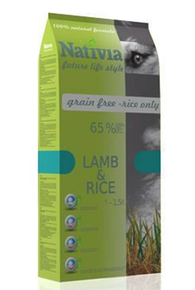 Nativia Dog Adult Lamb&Rice...