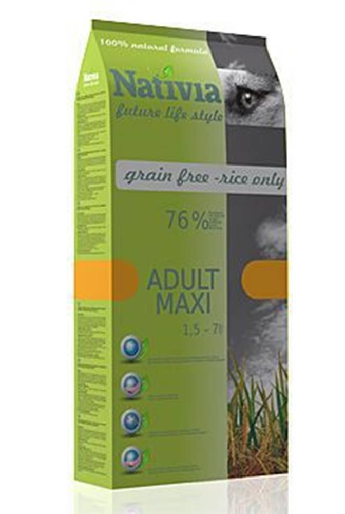 Nativia Nativia Dog Adult Maxi 15kg