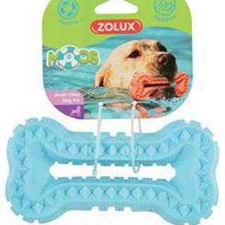Hračka pes BONE MOOS TPR POP 16cm modrá Zolux