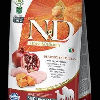 N&D GF Pumpkin DOG Adult M/L Chicken&Pomegranate 12kg
