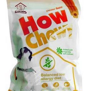 Pochoutka dentální How Chewy Flower Bone 180g