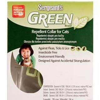 Sergeants Green obojok pre mačky 35cm 1ks