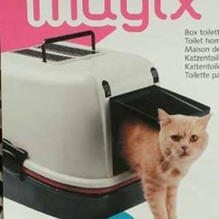 WC mačka kryté domček Magix 55,5x45,5x41cm FP 1ks.