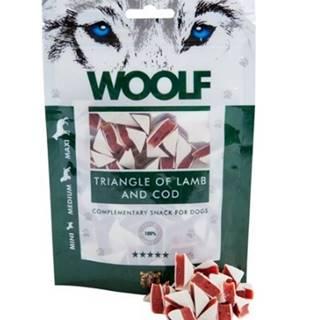 WOOLF pochoutka Lamb and Cod Triangle