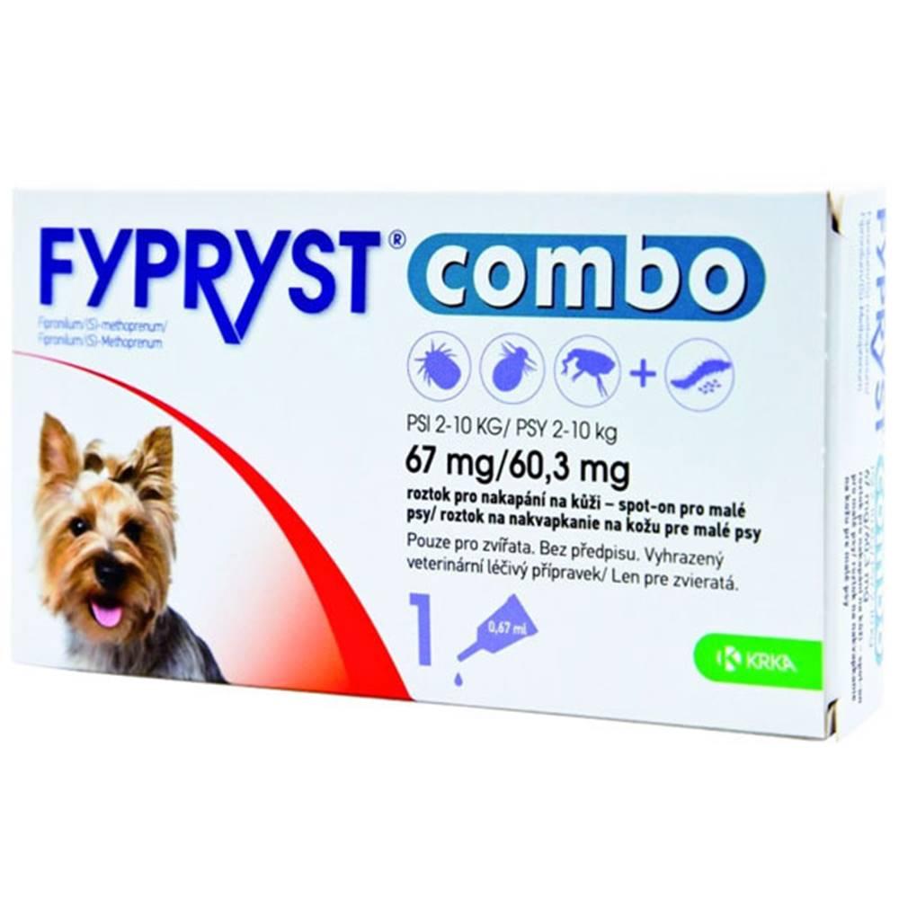 Fypryst Fypryst combo spot-on 67/60,3mg pes malý 1 pip