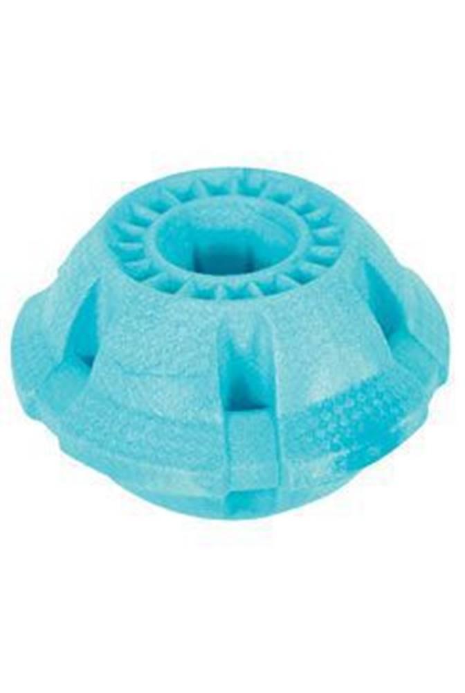 Zolux Hračka pes BALL MOOS TPR POP 9,5cm modrá Zolux