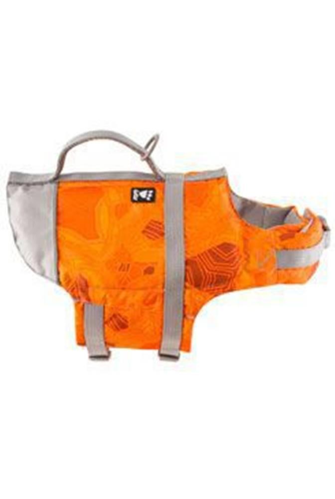 Hurtta Vesta plavací Hurtta Life Savior 40-80kg oranžová camo