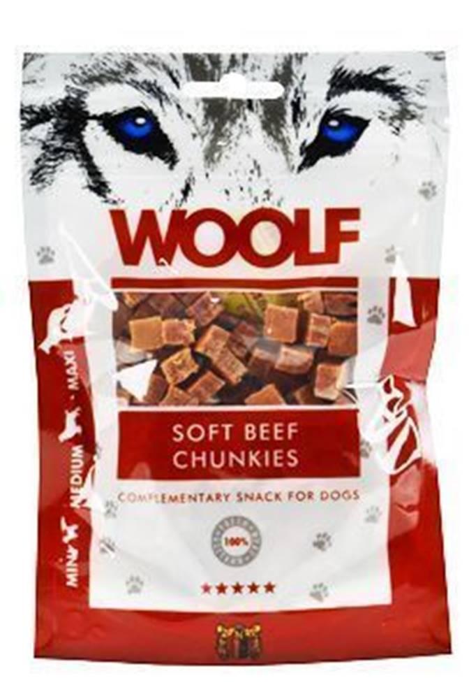 Woolf WOOLF pochúťka beef chunkies 100g