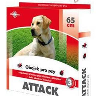 Attack obojek antiparazitární 65cm pes
