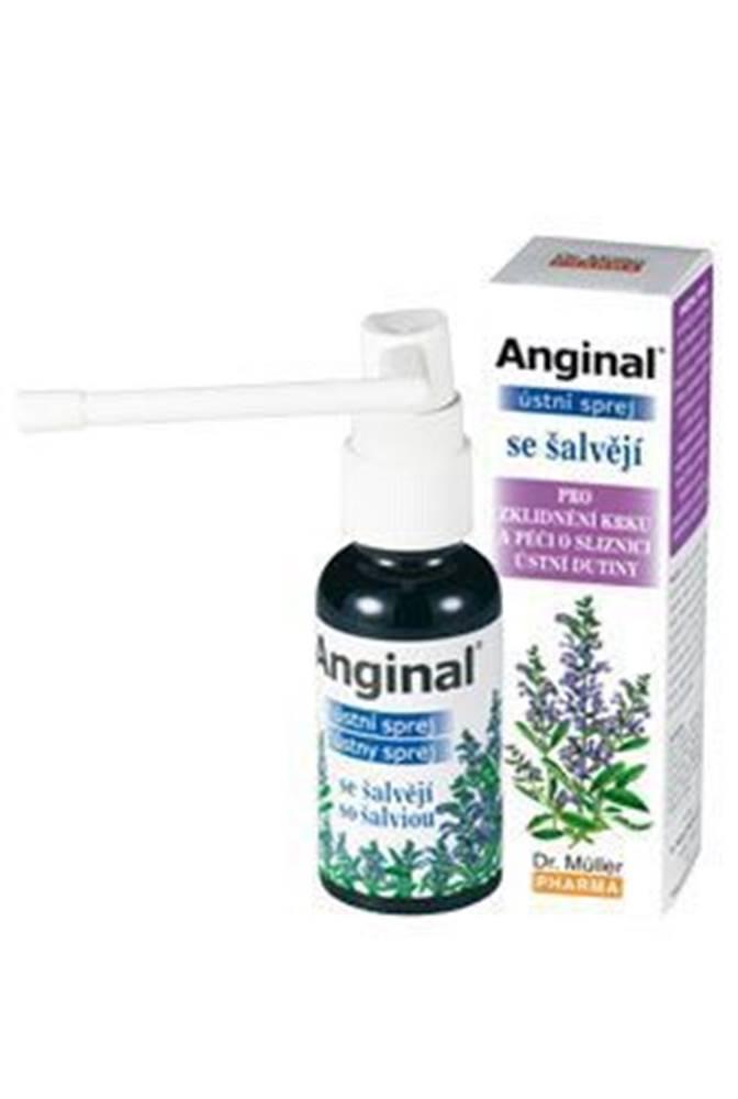 Ostatní Dr.Muller Pharma Anginal ústní sprej se šalvějí 30ml