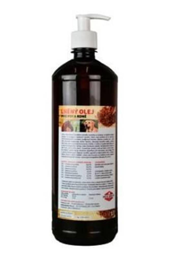 ZEUS Lněný olej pro koně a psy ZEUS  1000ml