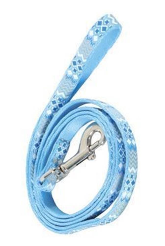 Zolux Vodítko mačka ETHNIC nylon modré 1m Zolux