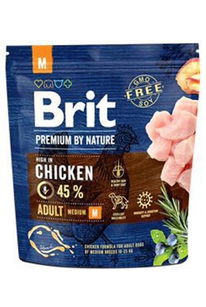 Brit Brit Premium Dog by Nature Adult M 1kg