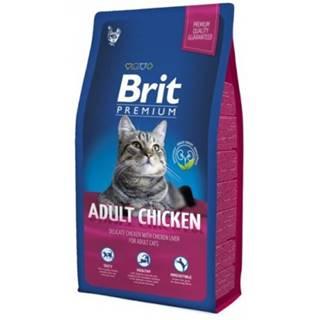 Brit Premium Cat Adult Chicken 300g NEW