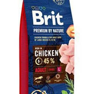 Brit Premium Dog by Nature Adult L 15kg