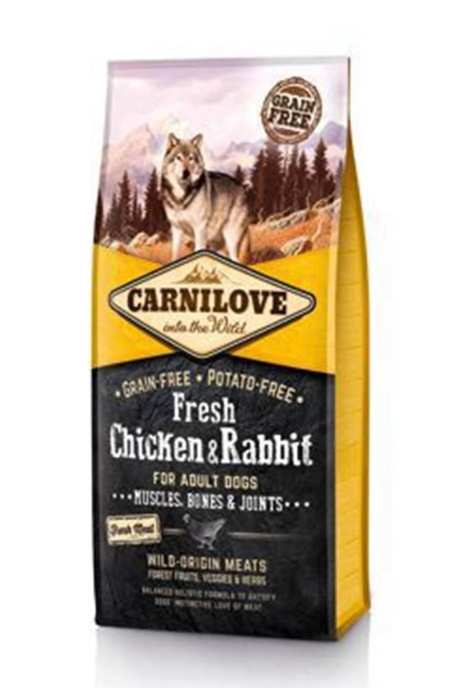 Carnilove Carnilove Dog Fresh Chicken & Rabbit for Adult 12kg