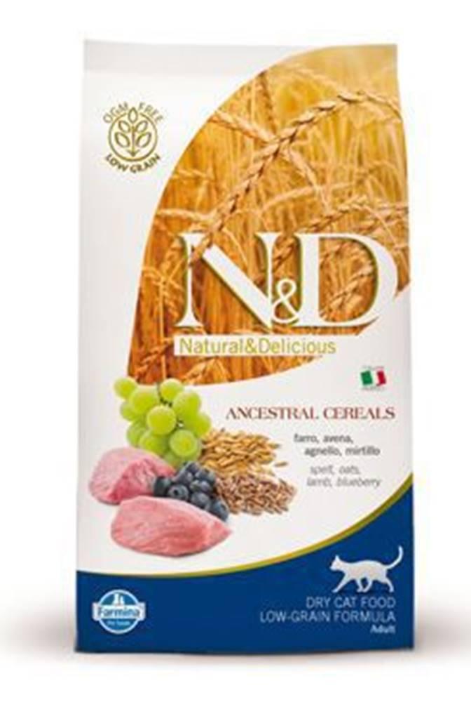 N&D N&D Low Grain CAT Adult Lamb & Blueberry 300g