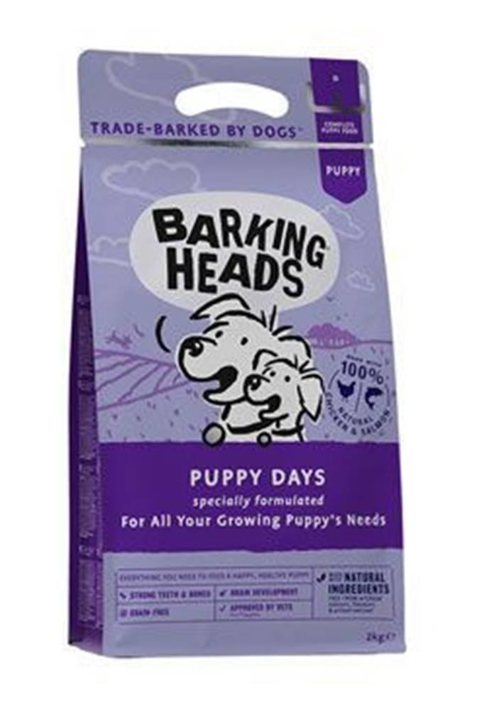 Barking heads BARKING HEADS Puppy Days NEW 2kg