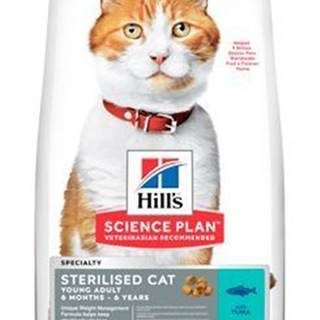 Hill's Fel. Dry Adult Young Sterilised Cat Tuna 10kg