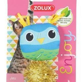 Hračka mačka LOVELY s santa vtáčik Zolux