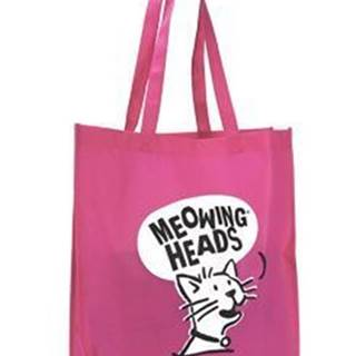 MEOWING HEADS taška Meowing Heads ružová
