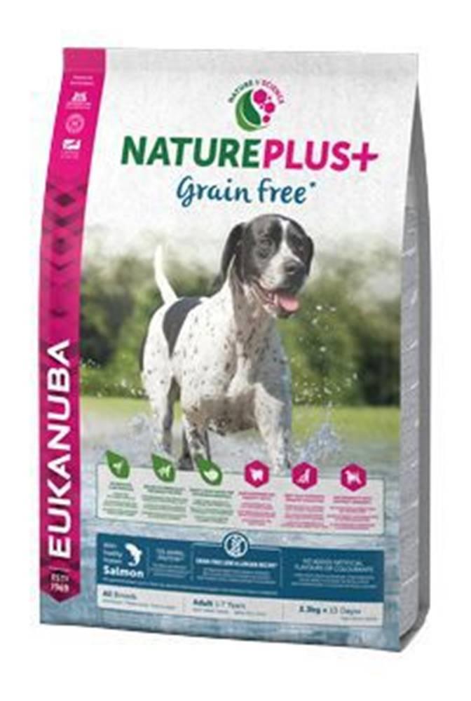 Eukanuba Eukanuba Dog Nature Plus Adult Grain Free Salmon 2,3kg