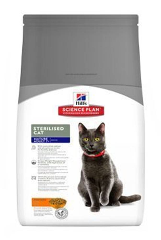 Hill's Hill's Fel. Dry Mat Adult7+Sterilised Cat Chicken 10kg