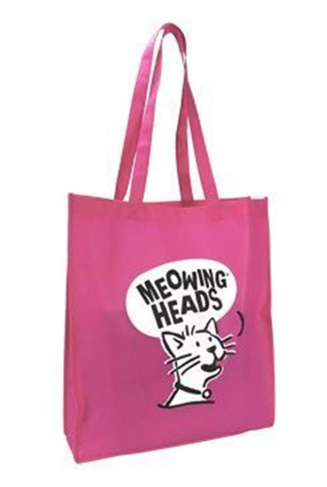 Meowing Heads MEOWING HEADS taška Meowing Heads ružová