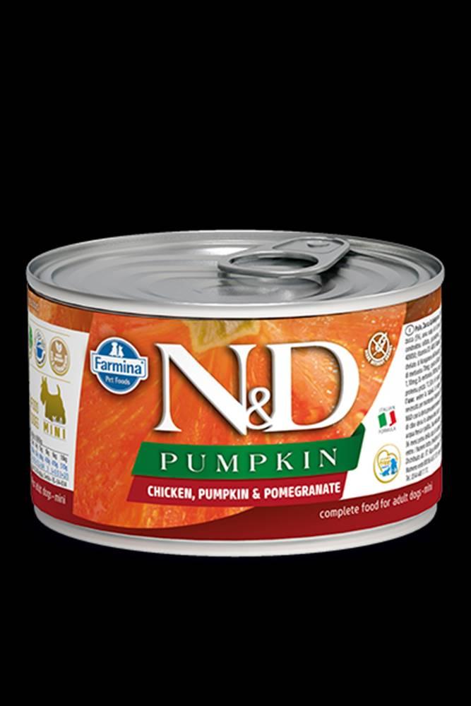 N&D (Farmina Pet Foods) N&D DOG PUMPKIN Adult Chicken & Pomegranate Mini 140g