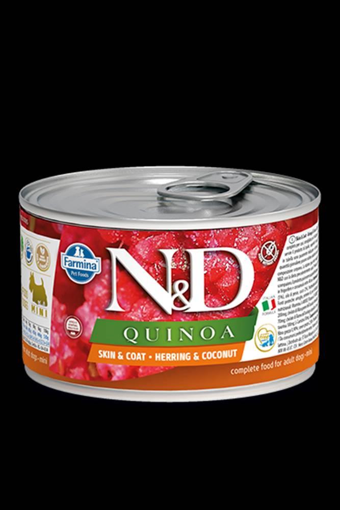 N&D (Farmina Pet Foods) N&D DOG QUINOA Herring & Coconut Mini 140g
