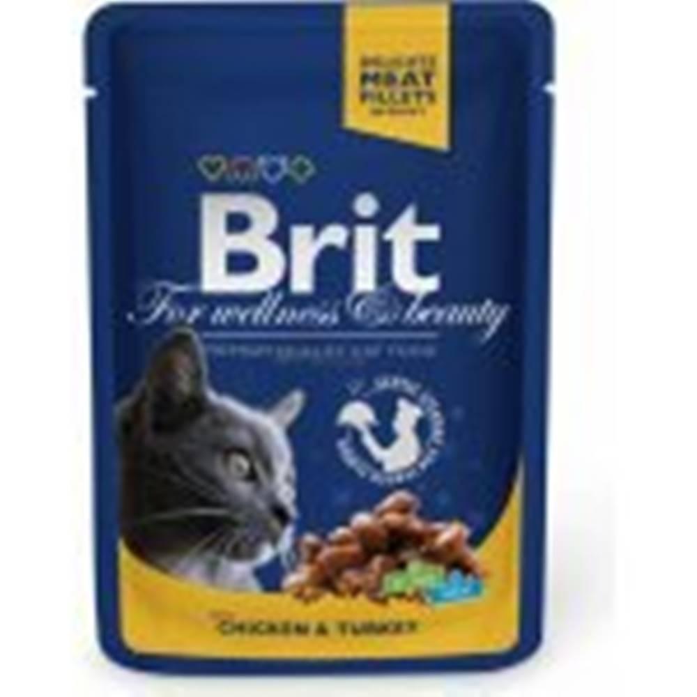 Brit Brit Premium Cat kapsa with Chicken & Turkey 100g
