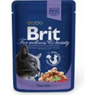 Brit Premium Cat kapsa with Cod Fish 100g