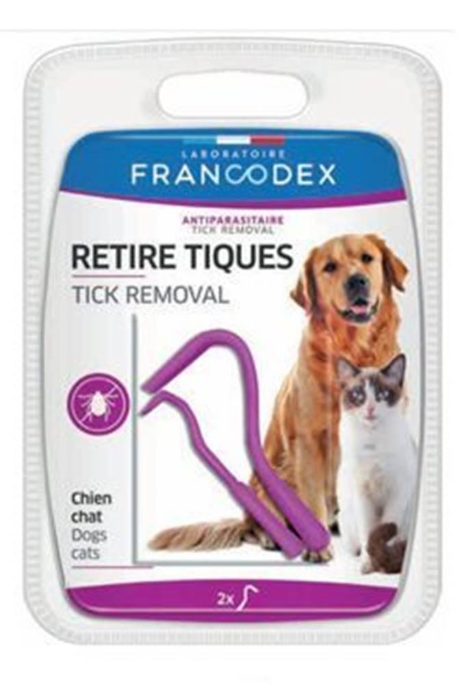 Francodex Francodex Háčik na kliešte 2ks