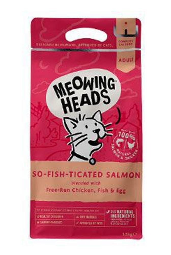 Meowing Heads MEOWING HEADS So-fish-ticated Salmon 1,5kg