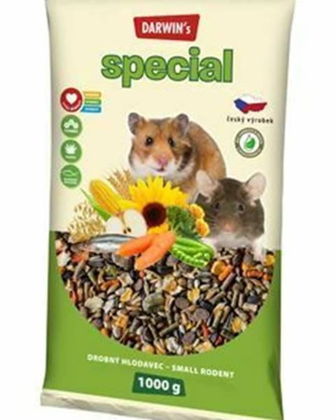 Malé zvieratká Darwin
