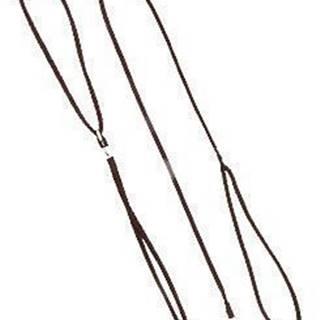 Vodítko DINOFASHION předváděcí šňůra 130cm/7mm hnědé