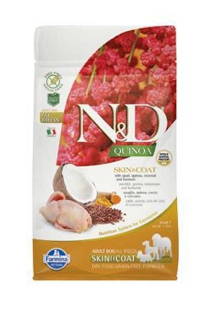 N&D N&D GF Quinoa DOG Skin&Coat Quail & Coconut 800g