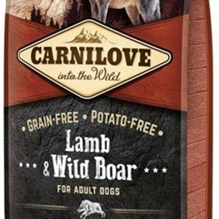 Carnilove Dog Lamb & Wild Boar for Adult  12kg