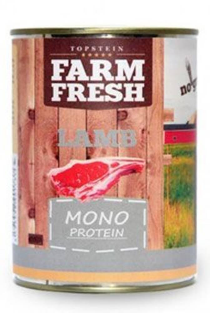 Farm Fresh Farm Fresh Dog Monoprotein konzerva Lamb 400g