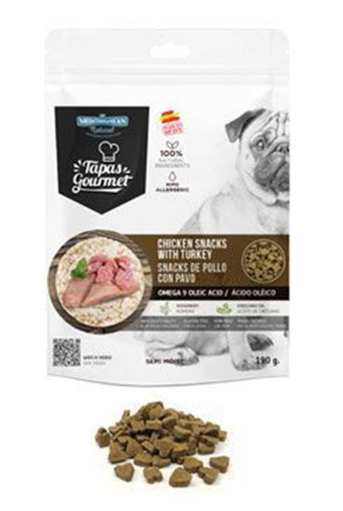 Ostatní Tapas Gourmet Snack for dog Chicken and Turkey 190g