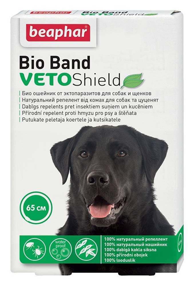 Beaphar Beaphar Obojek antipar. pes Bio Band Plus VetoSh.65cm