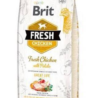 Brit Dog Fresh Chicken & Potato Adult Great Life 12kg