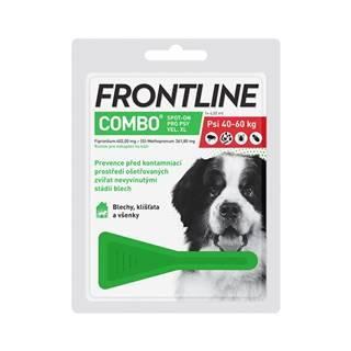 FRONTLINE COMBO spot-on pro psy XL (40-60kg)-1x4,02ml